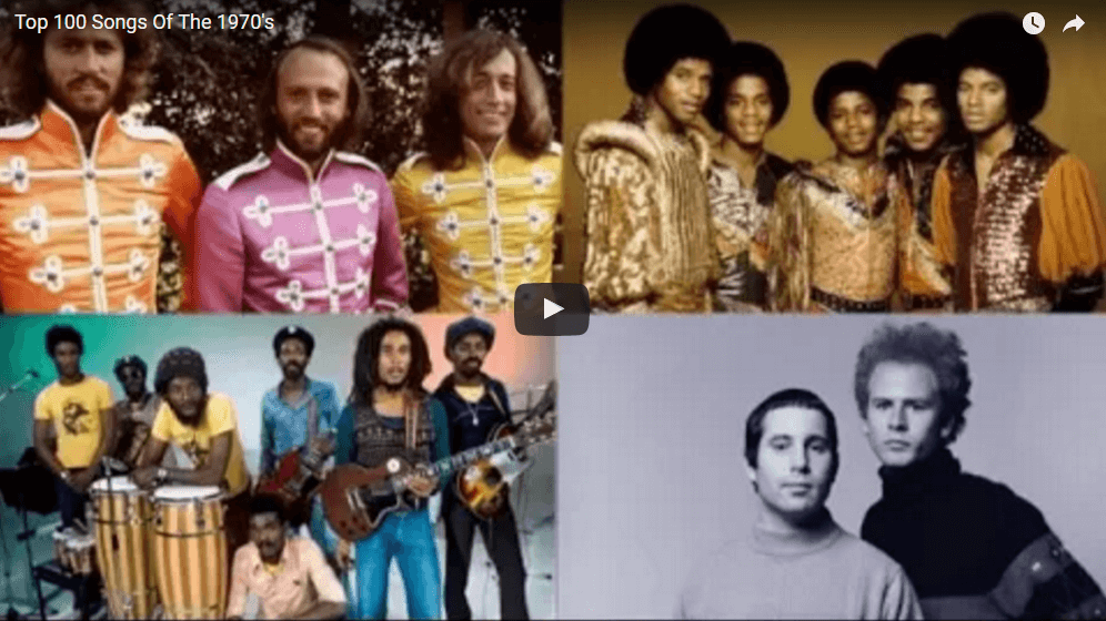 Top 100 songs from the 70s