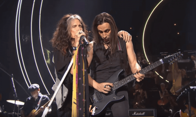 Back In Time: Steven Tyler sings Livin' In The Edge on Nobel Prize (1)