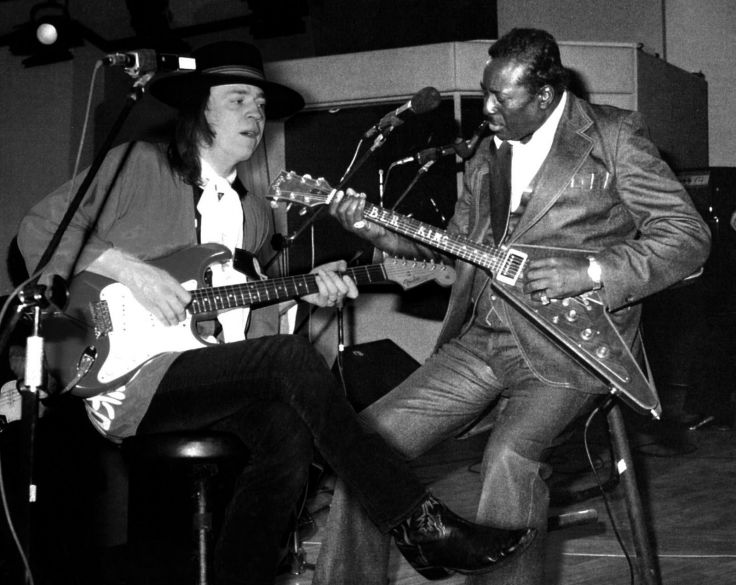 Back In Time Stevie Ray Vaughan and Albert King blues jam session