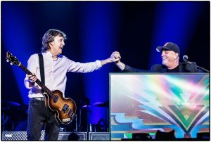 Paul McCartney and Billy Joel 2017