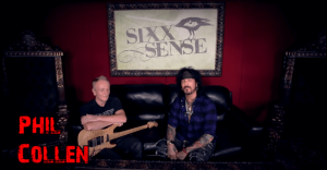 Phil Collen and Nikki Sixx