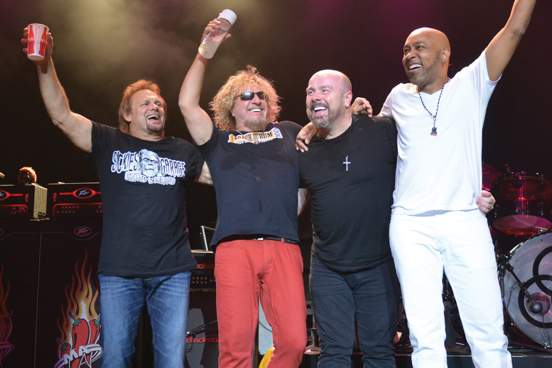 Sammy Hagar says Van Halen's reunion is not on his bucket list