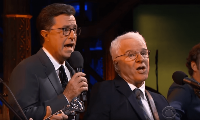 Stephen Colbert and Steve Martin