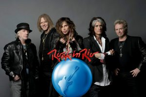 Watch Aerosmith live on Rock In Rio right now!