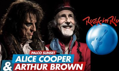 Watch Alice Cooper and Arthur Brown live in Rock In Rio