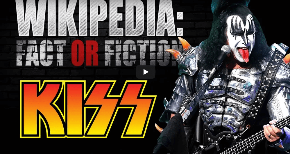 """Watch Gene Simmons playing """"Wikipedia Fact Or Fiction"""""""