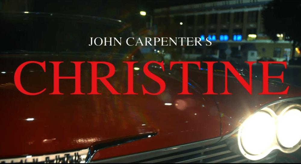 "Watch John Carpenter videoclip for ""Christine"" theme"