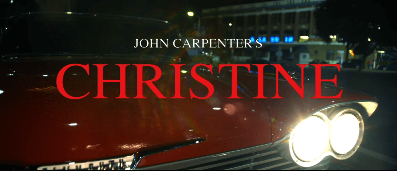 "Watch John Carpenter videoclip for ""Christine"" theme"