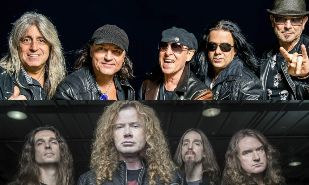 Watch Megadeth And Scorpions Playing At Madison Square Garden