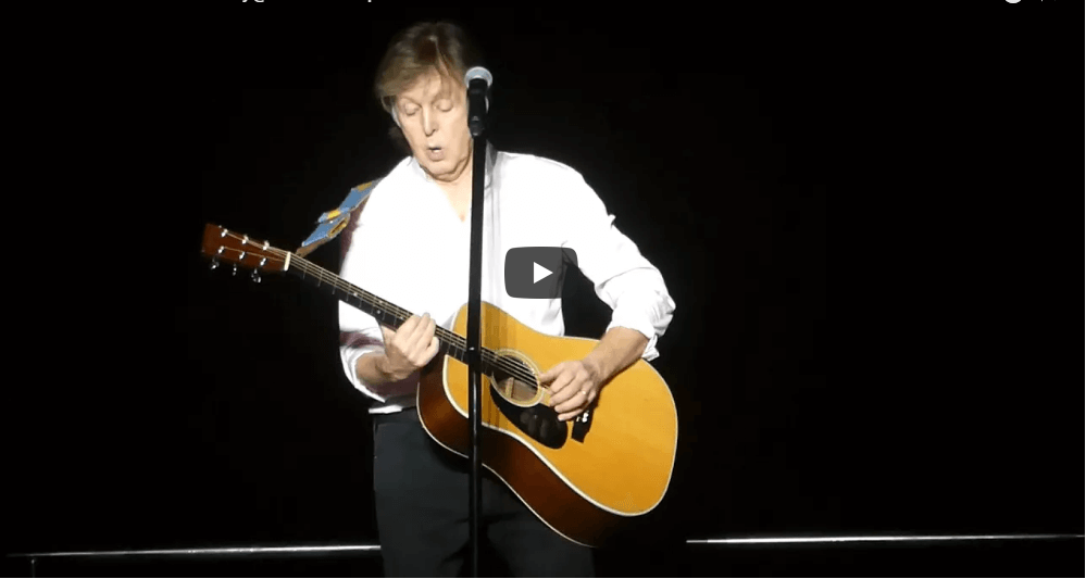 Watch paul mccartney performing on madison square garden - Paul mccartney madison square garden tickets ...