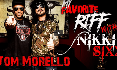 Watch Tom Morello and Nikki Sixx talking about music
