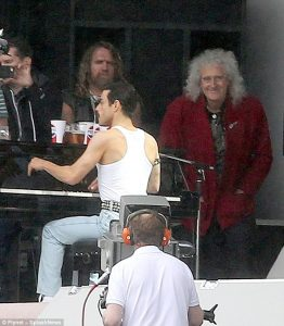 Queen freddie and may biopic