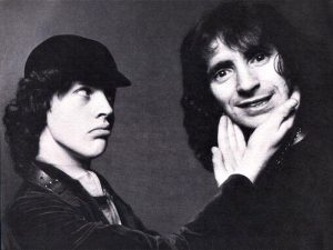 Angus Young Bon Scott