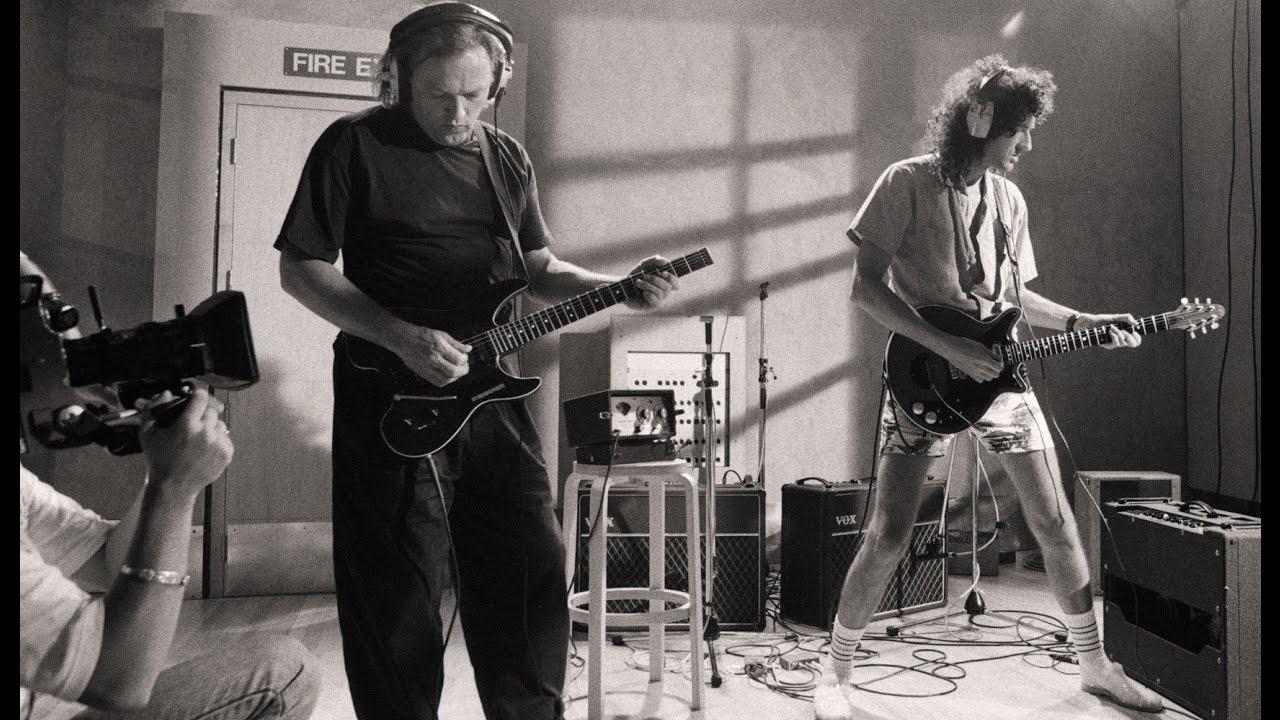 David Gilmour and Brian May