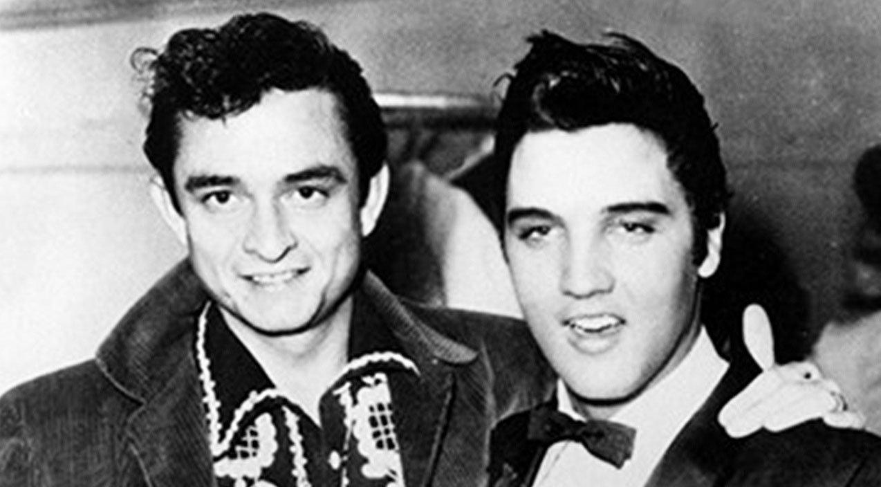 Back In Time: Johnny Cash does Elvis impression