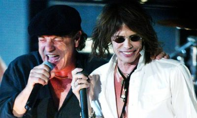 Back In Time: Steven Tyler and ACDC performing together