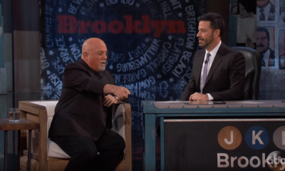 Billy Joel and Jimmy Kimmel
