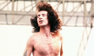 Bon Scott shirtless