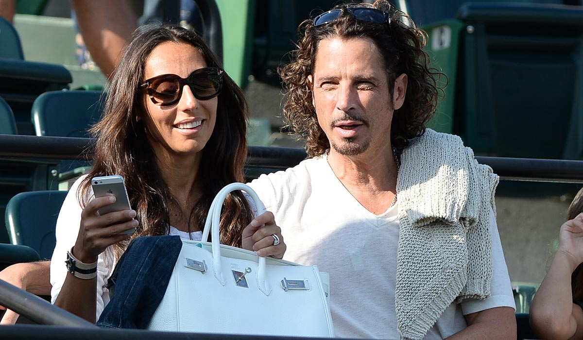 Chris Cornell and wife