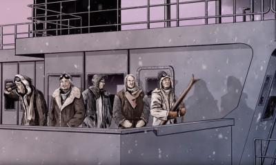 Deep Purple animated video