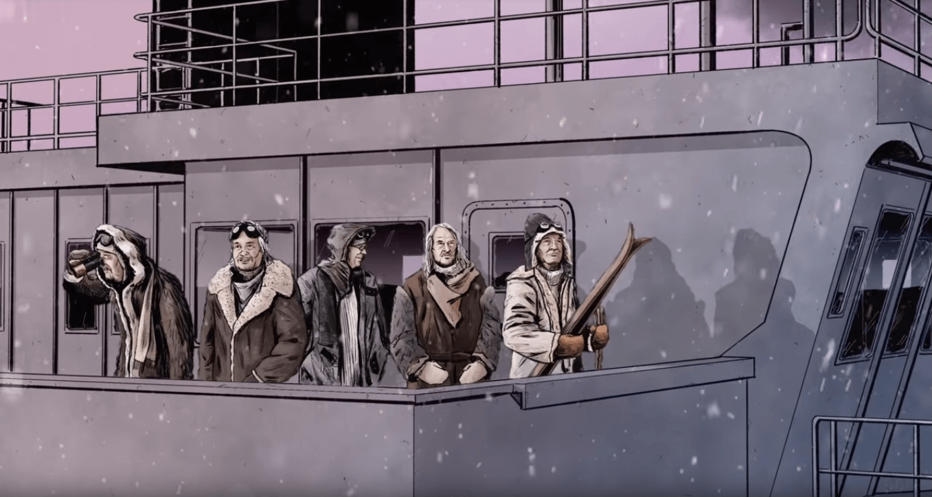 Deep Purple animated video