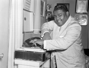 Fats Domino in the 50s