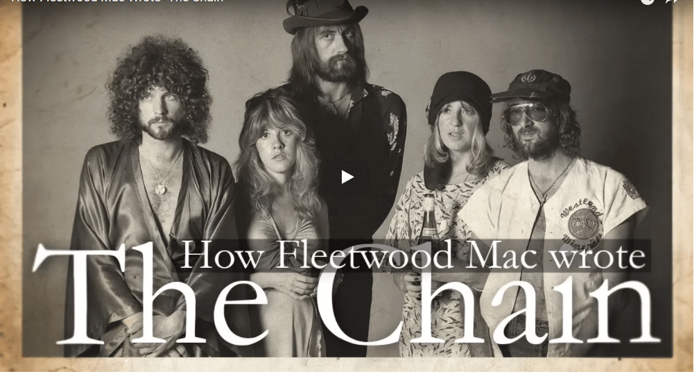 Find out how Fleetwood Mac wrote classic song The Chain