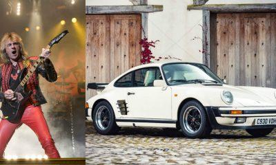 Glenn Tipton Porsche