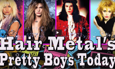 Hair Metal's pretty boys singers then and now, can you recognize them
