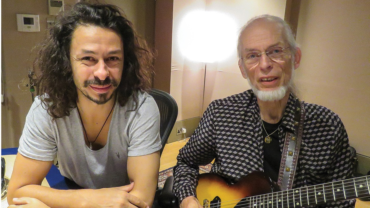 Hear Nexus the song made by Steve Howe and his late son Virgil