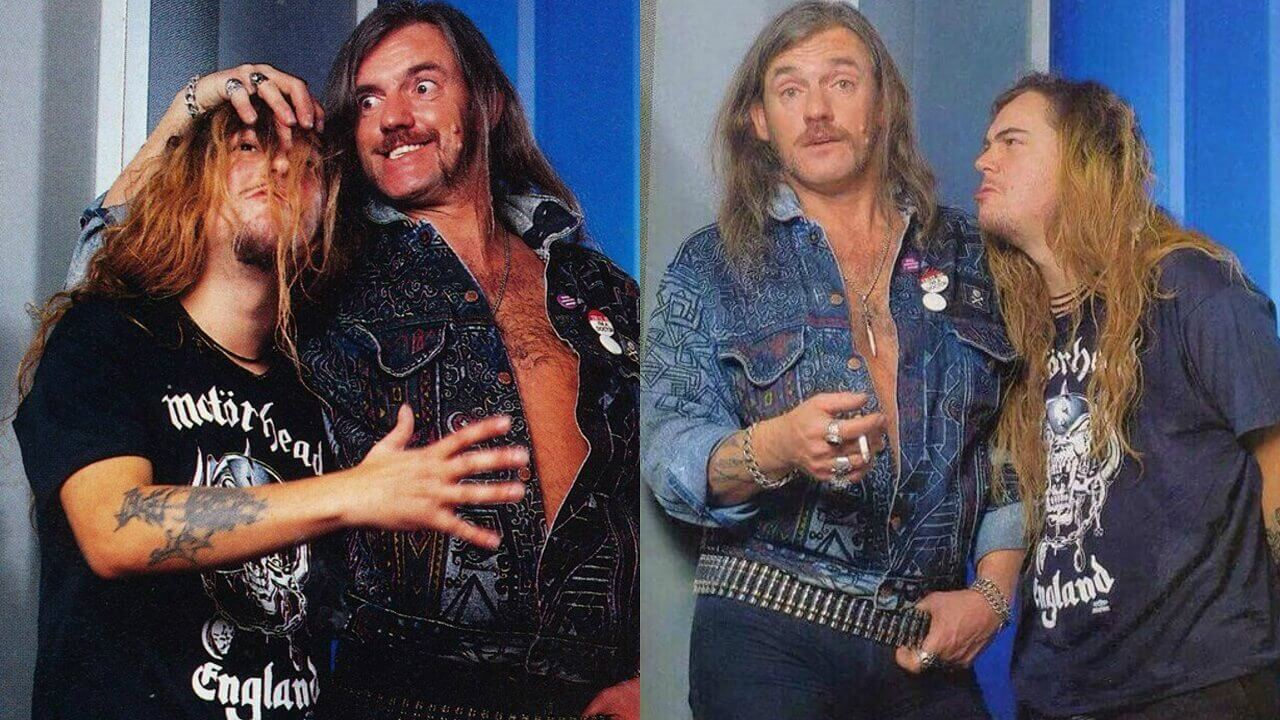 Max Cavalera and Lemmy Kilmister
