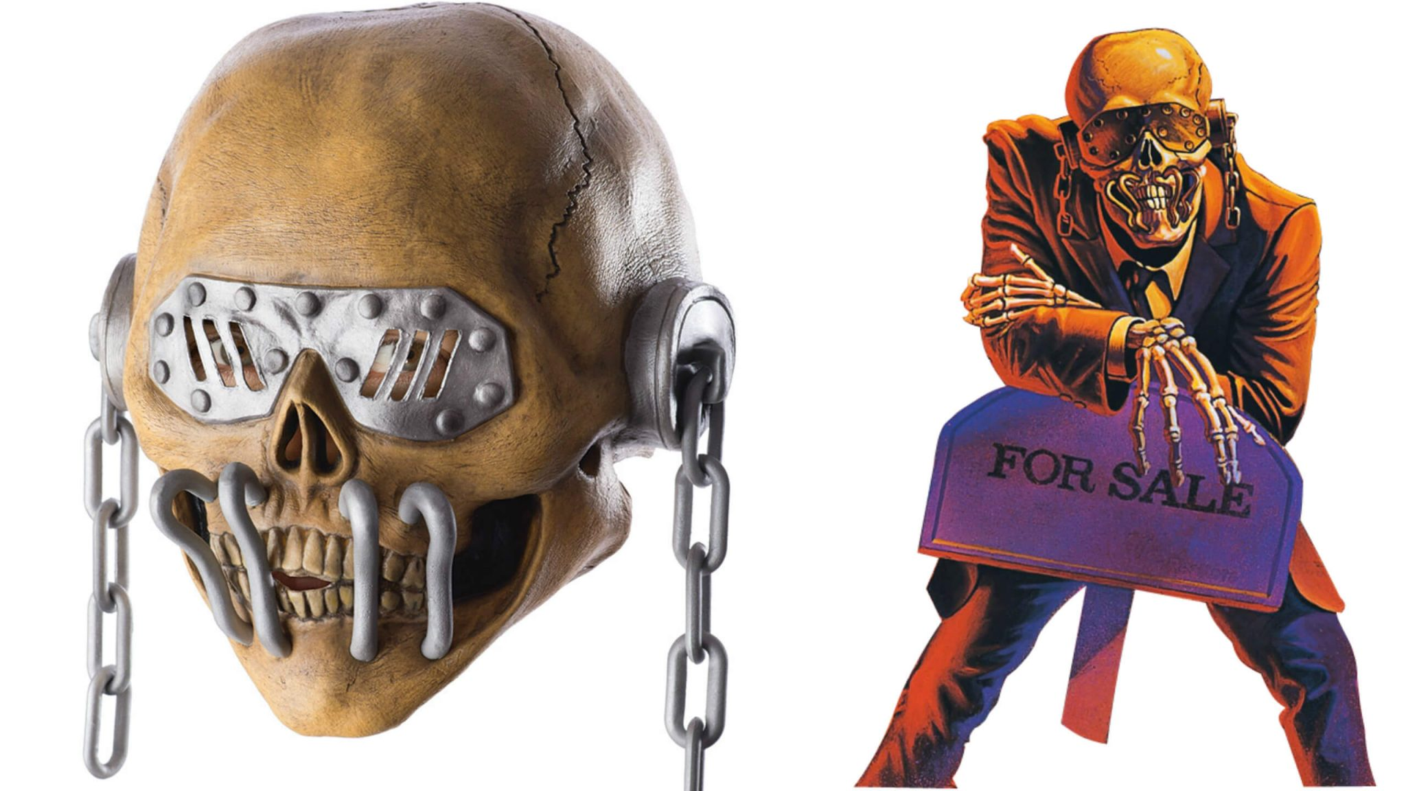 Megadeth releases official Vic Rattlehead mask for Halloween