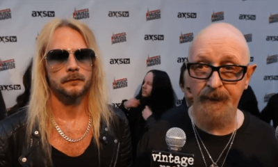 Rob Halford and Richie Faulkner