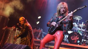 Rob Halford and Glenn Tipton