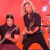 Robert Trujillo and Kirk Hammett