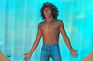 Roger Daltrey shirtless
