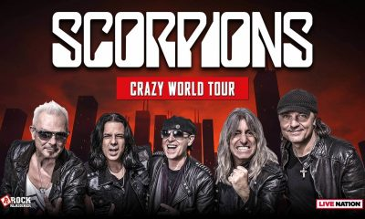 "Scorpions cancel remainder of USA ""Crazy World"" tour with Megadeth"