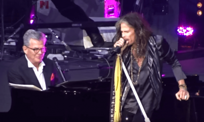 Steven Tyler back on stage