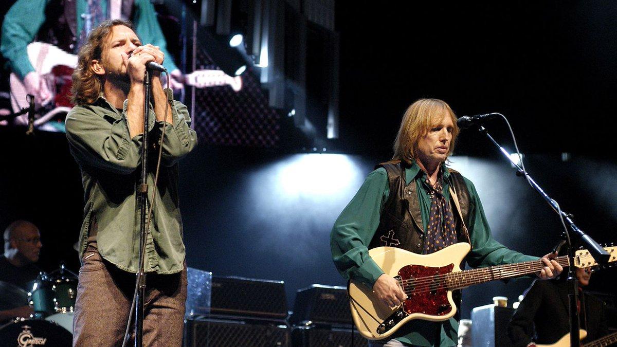 Tom Petty and Eddie Vedder