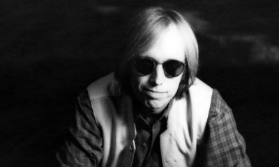 Tom Petty wearing sunglasses