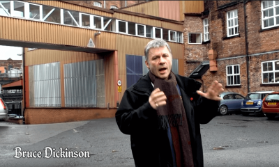 Watch Bruce Dickinson introducing the new Iron Maiden beer
