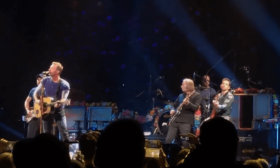 Watch Coldplay playing Free Falin in Tom Petty's memory