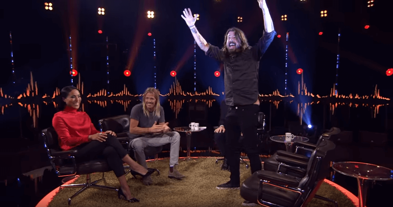 Watch Dave Grohl get surprised by the doctor who saved his leg
