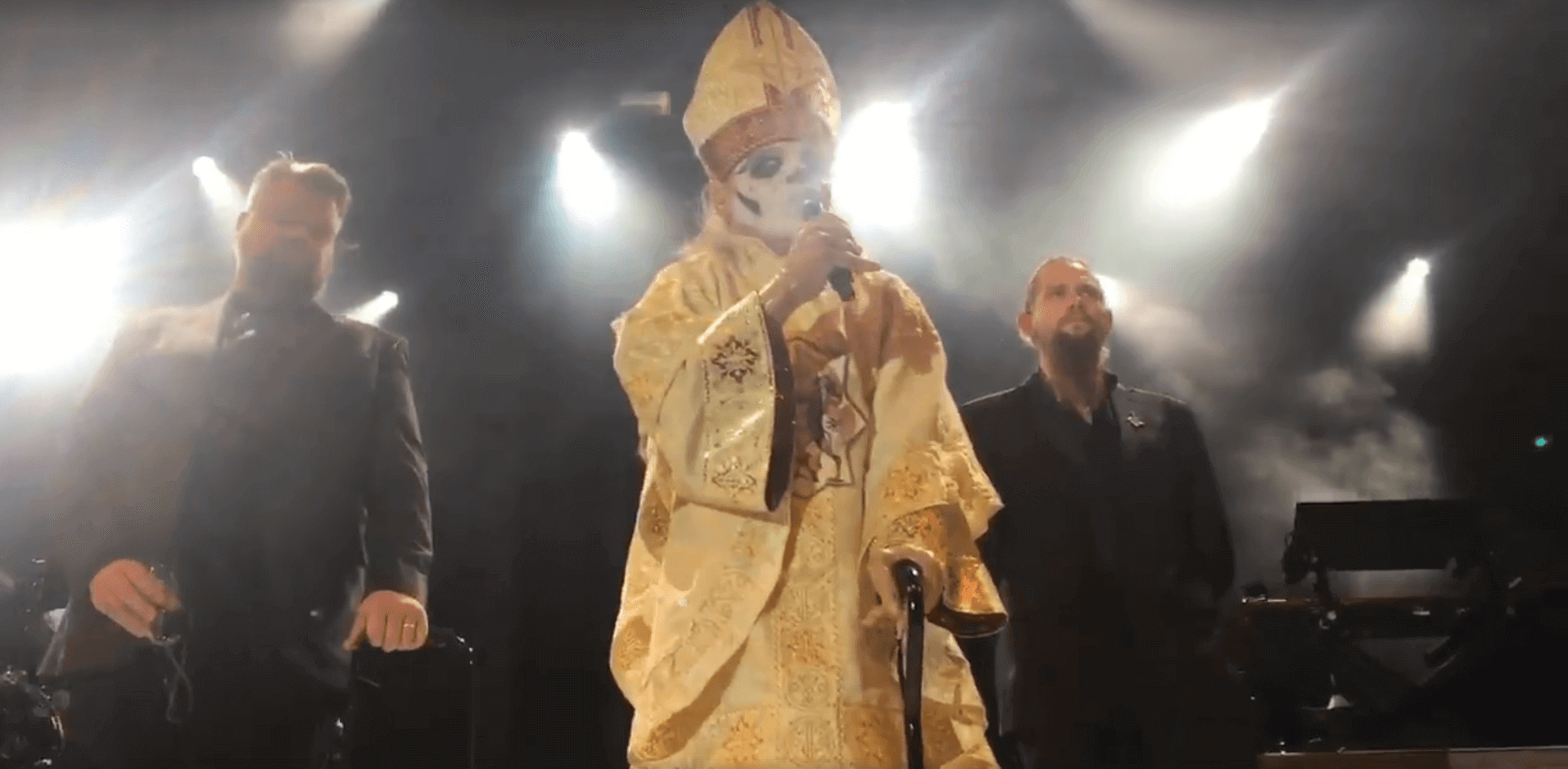 Watch Ghost's Papa Emeritus be replaced by new frontman
