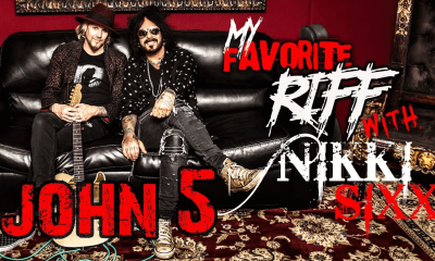 "Watch John 5 talking to Nikki Sixx ""My Favorite Riff"" Series (1)"