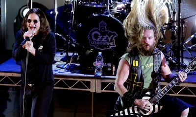 Watch Ozzy Osbourne and Zakk Wylde performing at Louder Than Life