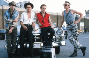the clash and a car
