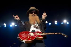 Billy Gibbons playing