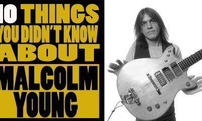 10 things you didn't know about ACDC's guitarist Malcolm Young