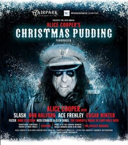 Christmas pudding alice cooper